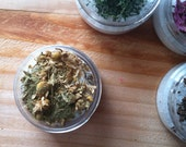 All Natural Herbal Bath Salt {SOOTHING & RELAXING}~ Chamomile + French Lavender {Botanical Skin Care}