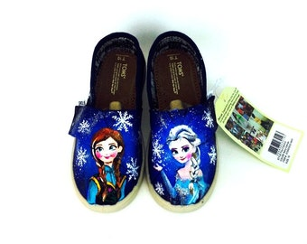 Custom Frozen Toms For Toddler