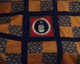 Air Force Military Quilt