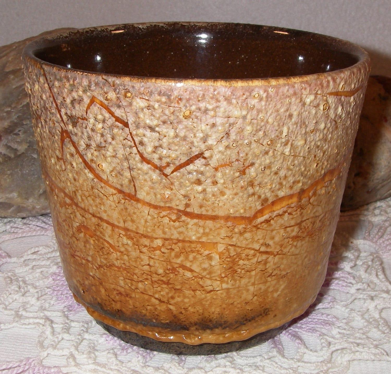 Vintage Pottery West Germany 806-12 Pottery Fat Lava Planter