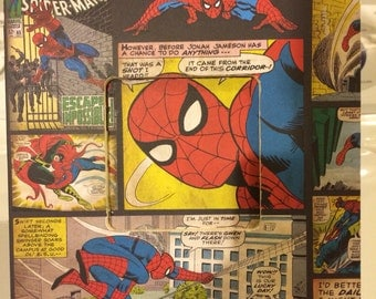 3x3 Spider-Man Comic Frame - Free Shipping