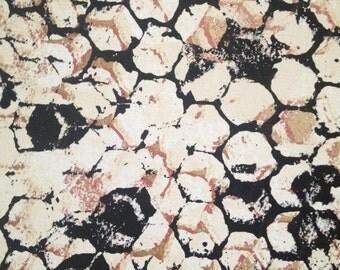 """Honeycomb, handmade silkscreen print, 1 of 1, size 10"""" x 8"""""""