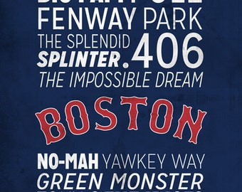 Boston Red Sox Print