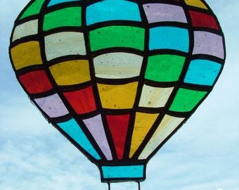 Tiffany SunCatcher Pattern Dream Balloon (handmade)