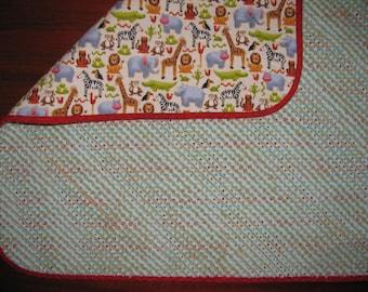 Handmade Chenille Quilt
