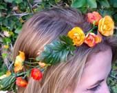Orange Begonia Overgrown Crown