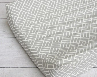 Mod Gray Changing Pad Cover