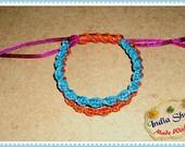 Friendship Bracelet -- Macrame Bracelet -- adjustable bracelet -- pulsera Ajustable -- Christmas Gift