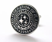 United Federation of Planets Starfleet Academy 2258 Cufflinks Cuff Links