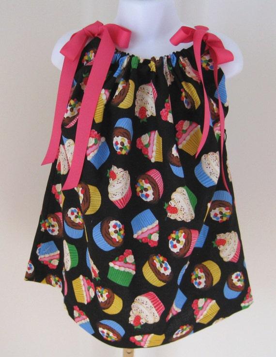 CLEARANCE 24mo Baby Girl Dress Cupcake Baby Girl Dress