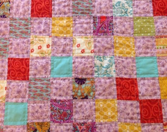 Popular Items For Postage Stamp Quilt On Etsy