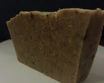 Gentle Oatmeal and Honey Soap. Infused with Chamomile Flowers.