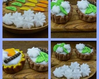 Felt Cake Sewing Pattern Tutorial Key Lime Pie