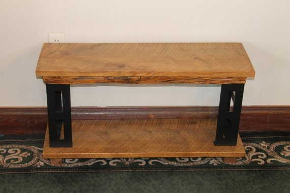 Items similar to 36 reclaimed solid pine led lcd tv for Coffee tables 36 wide
