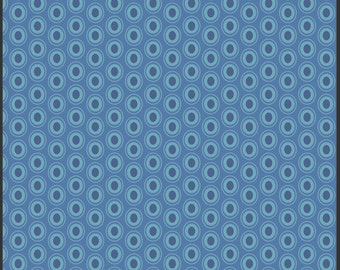Oval Elements - Sapphire - Art Gallery Fabrics Fat Quarter