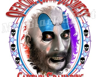 Captain Spaulding Quot Official Clown Businuess Quot 8x10 Print