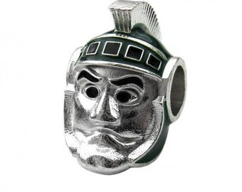 Michigan State Spartan Jewelry Sparty Charm