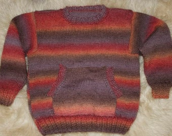 knitted kids jumper