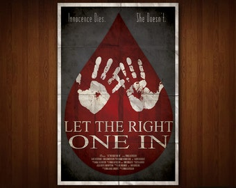 Let the Right One In Poster (Multiple Sizes)