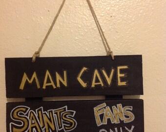 Saints Man Cave Sign