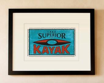 Lake Superior Kayak