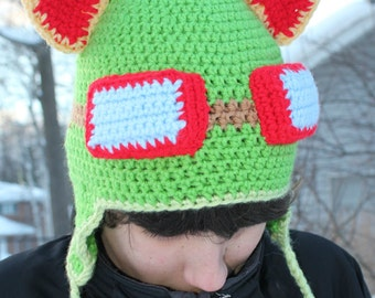 League of Legends Inspired Teemo hat