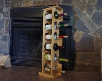 popular items for rack mural vin on etsy. Black Bedroom Furniture Sets. Home Design Ideas