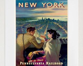 New York Travel Art Poster America Print Home Decor (XR192)