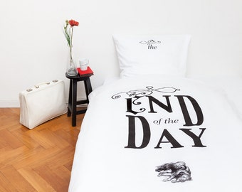 """Bed-linen """"End of the day"""""""