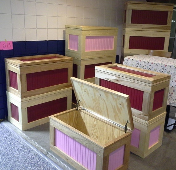 Hope Chests Wooden Handcrafted ~ Items similar to handmade wooden toy box hope chest