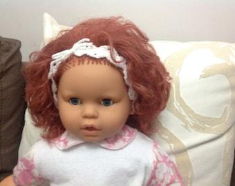 Crochet headband, baby headband, girl headband