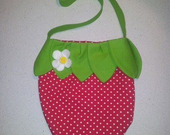 Strawberry bags for kids