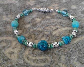 Bracelet beaded Cool Waters  bracelet fashion bracelet woman's bracelet