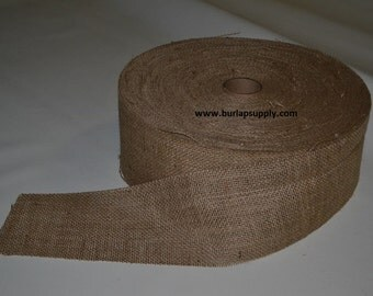 6 inch wide 10 oz Burlap Roll -