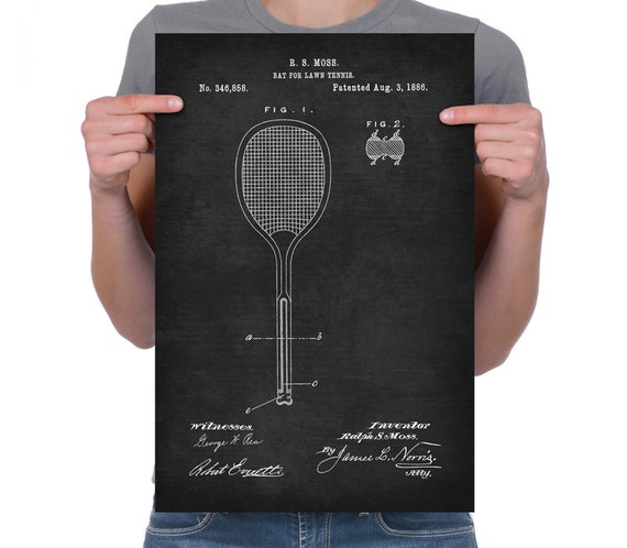 Lawn Tennis Drawing Lawn Tennis by Slazenger