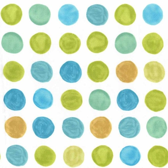 Polka dot quilting cotton fabric by the yard children 39 s for Childrens cotton fabric by the yard