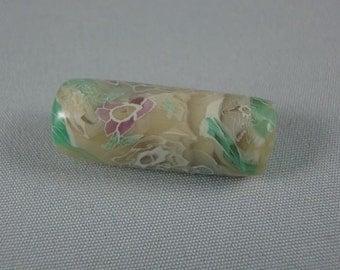 Millennium Garden Tube shaped bead
