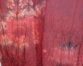 Ponge zijde sjaal regenboog geverfd