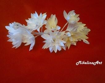Wedding Bridal Head Piece, Hair Accessory, White