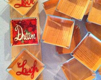 Vintage 1/2 Pint Wooden Raspberry Boxes (pk of 30)