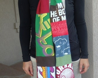 Custom Made T-shirt Scarf