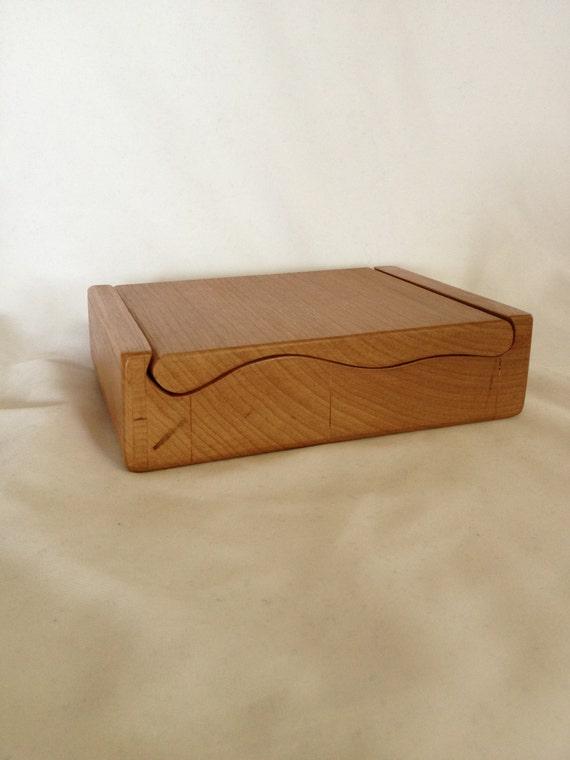 Wood Band Saw Box ~ Items similar to custom cherry wood bandsaw storage or