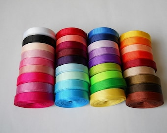 3/8'' 10mm solid Grosgrain Ribbon 36colors Hair Bows Sewing Scrapbooking Decoration