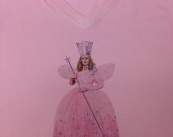 Wizard of Oz Glinda 3/4 Length Sleeve Top