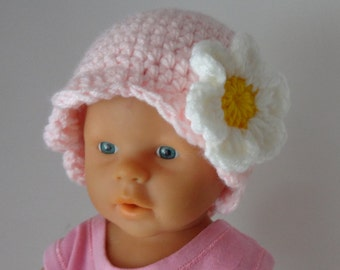Baby Hat, Baby Girl Hat Newborn Hat Photo Prop, Baby crochet Hat Girl Hat, Infant Hat Newborn Baby Girl Hat, Baby Girl Newborn Hat,