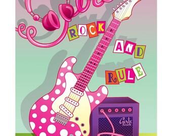 Girl's Rock and rule!