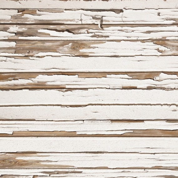 Canvas White Peeled Wood Floor Backdrop Faux 3ft X 4ft Photo