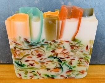 Coconut Milk or Three Butter, Eucalyptus Spearmint Soap