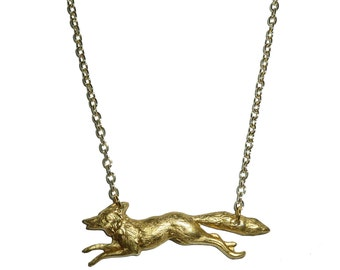 Fantastic Fox Necklace