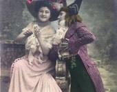 Real french vintage postcard - Beaucoup
